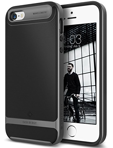 iphone-se-case-caseology-wavelength-series-textured-pattern-grip-cover-black-shock-proof-for-apple-i