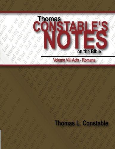Download Thomas Constable's Notes on the Bible Vol. VIII (Volume 8) pdf epub