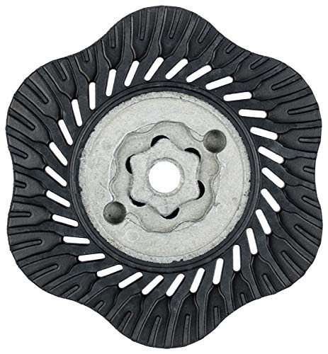 3//8-24 Thread PFERD 69467 Combiclick Backing Pad 4 Diameter 15200 RPM
