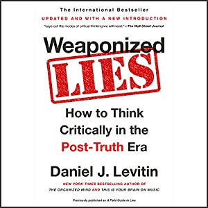 Weaponized Lies Audiobook
