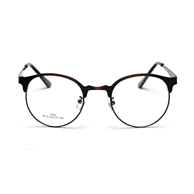 Korean Ultra-Stylish Glasses Optical Frames Metal Plain Glasses ...