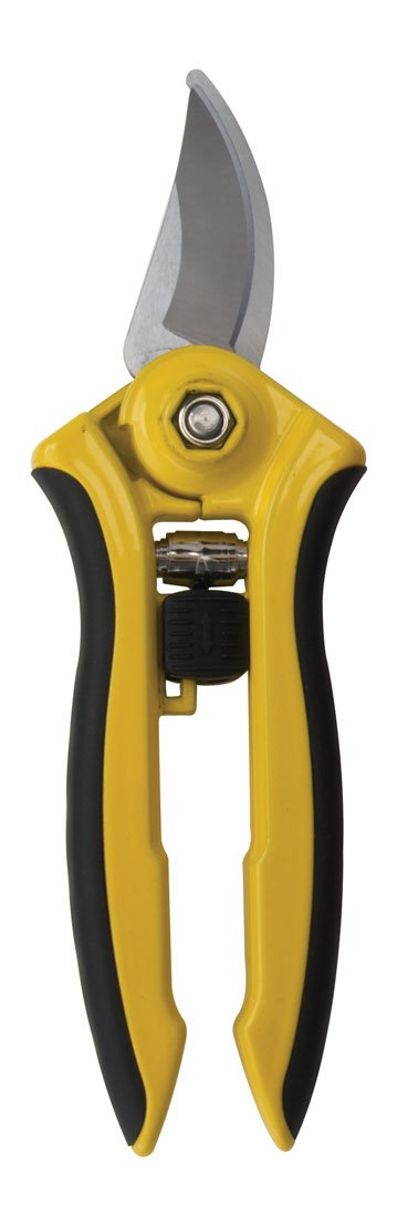 Dramm 18043 ColorPoint Bypass Pruner with Stainless Steel Blade, Yellow
