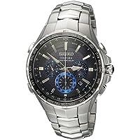 Seiko SSG009 Mens Coutura Radio Sync Solar Chronograph Watch