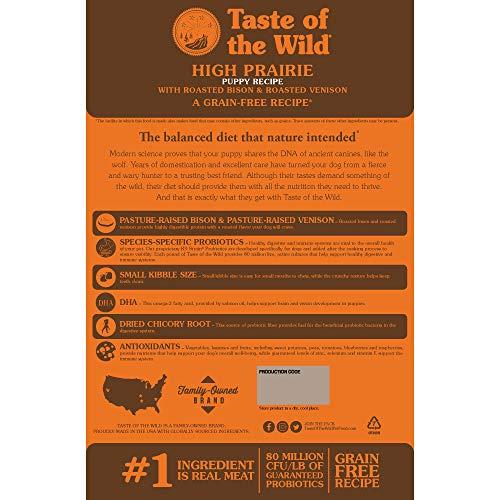 519gv20a4bL. SS500  - Taste of The Wild - Roasted Venison & Bison