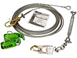 Miller by Honeywell SG8183-10/60FT Skygrip Wire Rope Lifeline System Kits, 60'