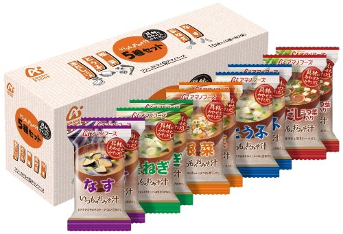 Amano Foods Freeze-Dried Miso Soup 10 Servings