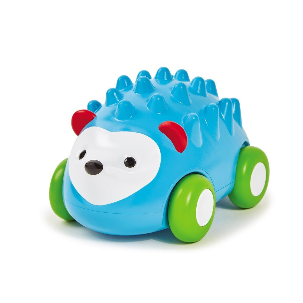 Skip Hop Explore and More Pull-and-Go Toy Car, Hedgehog 303107