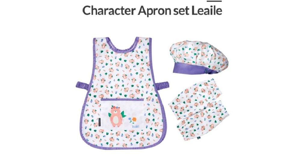 Pot de miel Character Kids Apron Set Leaile
