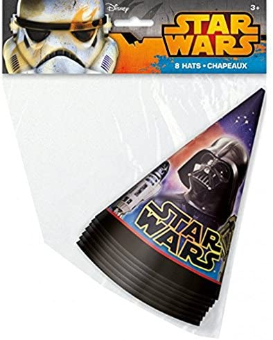 Disney Star Wars Party Cone Hats for 16 Guests