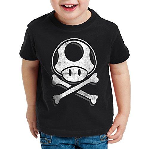 juego os Skull para World Toadskull Black Hormiga camiseta ni de consola Mario videojuegos Super qvHSZ