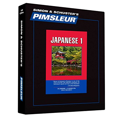 Pimsleur Japanese Level 1 CD: Learn to Speak and Understand Japanese with Pimsleur Language Programs (1) (Comprehensive)