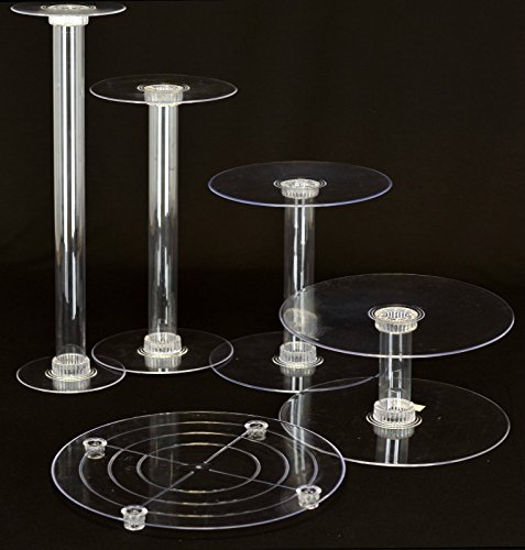 latest wedding cake stands cake stands new 5 tier cascade wedding cake stand style 16764