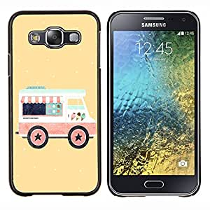 Dragon Case - FOR Samsung Galaxy E5 E500 - hey could love - Caja protectora de pl??stico duro de la cubierta Dise?¡Ào Slim Fit