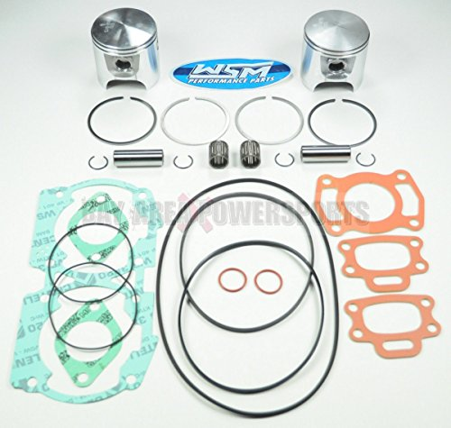 (Sea Doo 717 720 HX SP SPX GSI GTI GTS GS Piston Gasket Top End Rebuild Kit Std.)