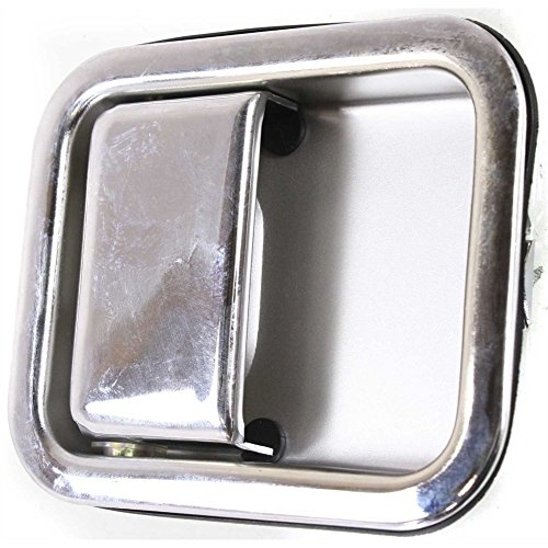Door Handle for 2006 Jeep Wrangler (TJ) 65th Anniversary Edition 4.0L Front Right Side Exterior Metal Chrome 65th Anniversary Jeep Wrangler