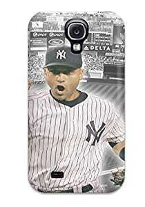 Forever Collectibles Derek Jeter Baseball Hard Snap-on Galaxy S4 Case