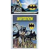 Unique 49914 Batman Party Invitations, 8-Count