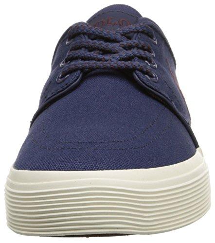 Polo Ralph Lauren Mens Faxon Basso Osservatore Sneaker Blu