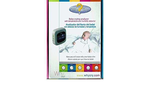 Amazon.com: Why Cry Baby Analyzer with Temperature and Humidity Detector: Health & Personal Care