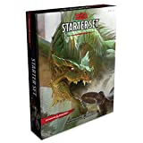 Dungeons & Dragons Starter Set (Six Dice, Five Ready-to-Play D&D Characters With Character Sheets, a Rulebook