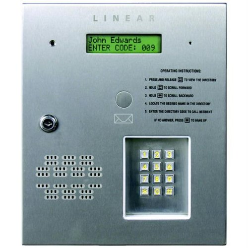 Amazon Linear Ae 500 Commercial Telephone Entry System Electronics