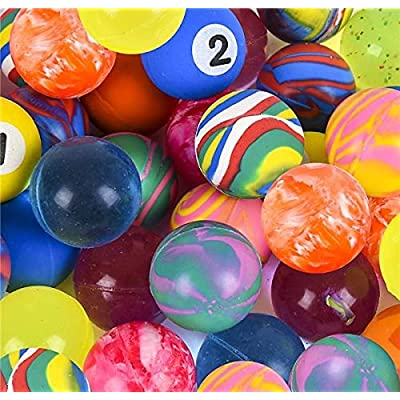 32MM HIGH-BOUNCE BALL ASSORTMENT: Toys & Games