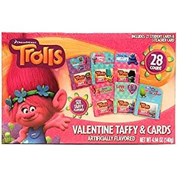 Amazon Com Trolls Valentine S Day Cards For School Exchange