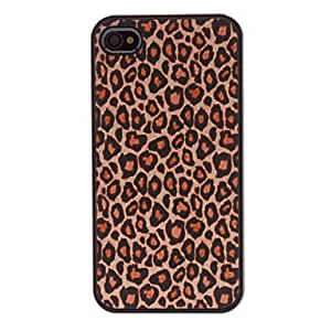 comprar Leopard Print Design funda Wild PC dura para el iPhone 4/4S