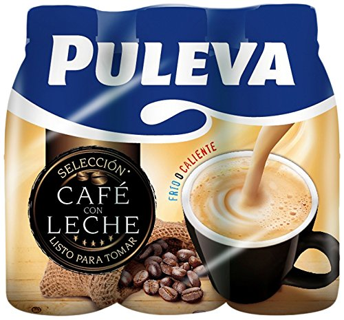Puleva Café con Leche - Pack de 6 x 1 L: Amazon.es: Alimentación y bebidas
