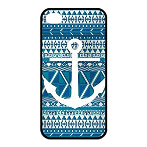 Custom Anchor Durable Back Cover Case for iPhone 4 4s
