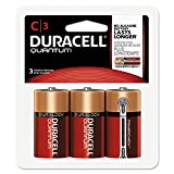 Quantum Alkaline Batteries W/ Duralock Power Preserve Technology, C, 1.5v, 3/pk By: Duracell