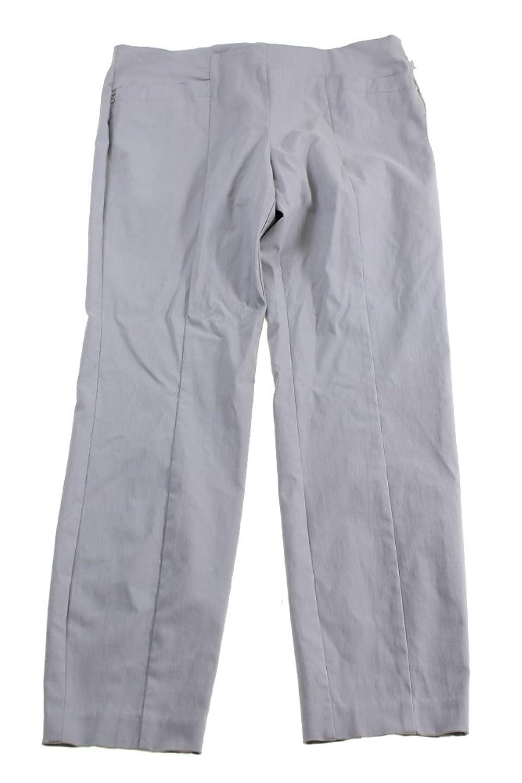 Alfani Grey Rivet Pocket Pull On Comfort Waist Pants