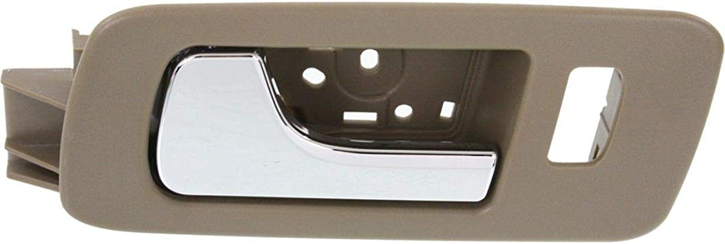 Door Handle For 2005-2011 Cadillac STS w// Beige Housing Front Right Inner
