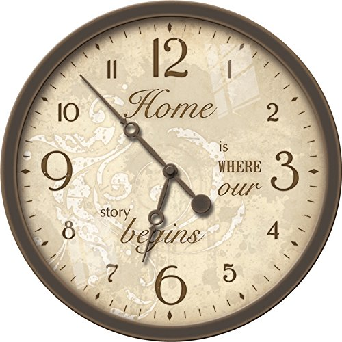 10' Wall Clock (FirsTime 10'' Sentiments Wall Clock)