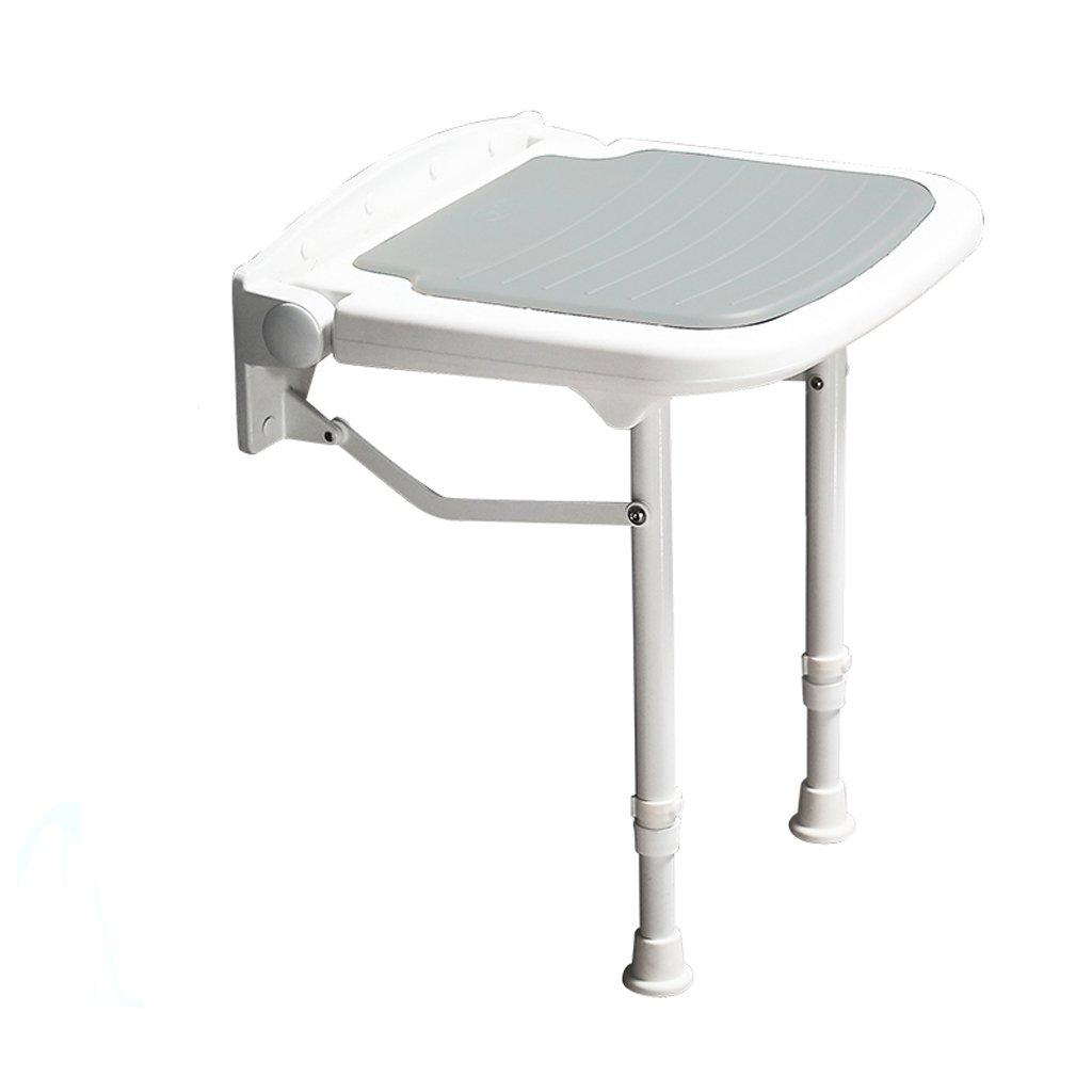 入浴車椅子 折り畳み式シャワーチェア - 高齢者、妊婦、障害者に適用 (色 : グレイ ぐれい)  グレイ ぐれい B07QX3N72Z