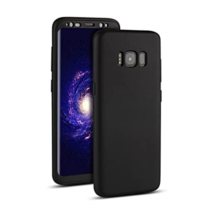 sneakers for cheap 65d3a f06f9 GBSELL 360° Full Cover Plated TPU Rubber+PC Shockproof Case for Samsung  Galaxy S8 Plus