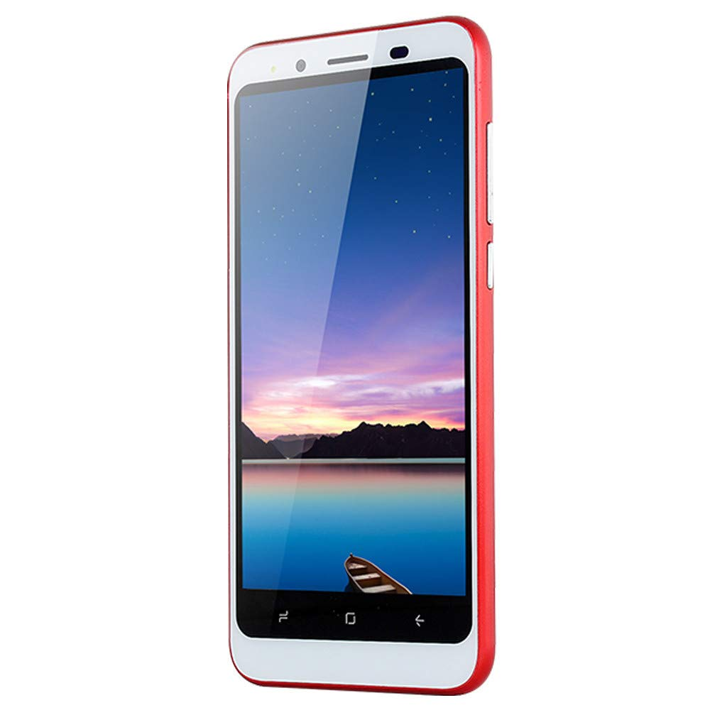 2019 New -Unlocked Smartphone, Dual HD Camera 4.7 inch Android 4.4 WiFi GPS 512+4G Dual SIM Mobile Phone Cell Phone (Red)