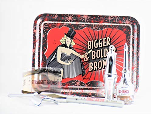 Benefit Cosmetics Bigger & Bolder Brows Kit Color 03 Medium - light to medium brown, redheads (neutral-warm)
