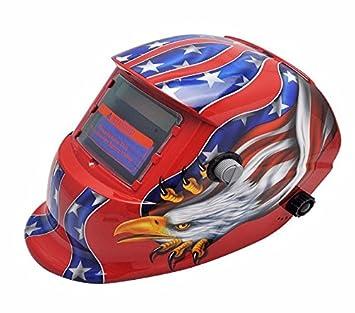 genmine® Pro Solar Auto oscurecimiento soldadura casco máscara de soldadura de molienda máscara de soldador: Amazon.es: Bricolaje y herramientas