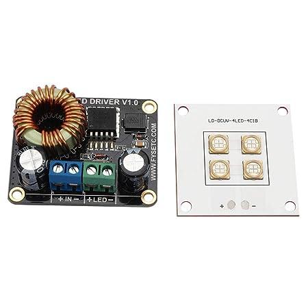 Gogordon - Controlador LED de 30 W + Placa de luz LED para ...