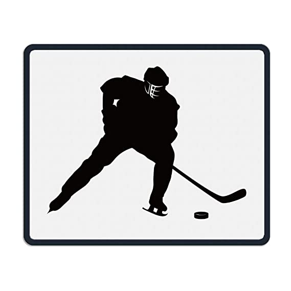 Amazon Com Smooth Mouse Pad Ice Hockey Player Mobile Gaming