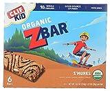 CLIF KID ZBAR - Organic Energy Bar - S'mores - (1.27 Ounce Snack Bar, 6 Count)