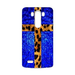 Fashionable Animal Print Protective Shell Leopard Custom Case for LG G3