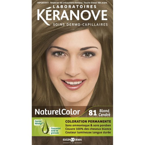 laboratoires kranove coloration permanente naturelcolor 81 blond cendre amazonfr hygine et soins du corps - Coloration Cendr