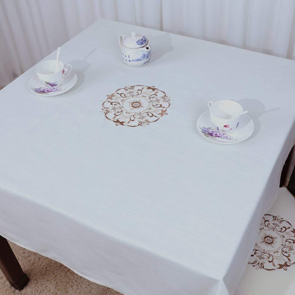 Shuangdeng 田舎のテーブルクロスファブリックTableclothTeaテーブルクロスデスクデスククロス (Color : F, サイズ : 90x150cm(35x59inch))   B07SCK8TVY