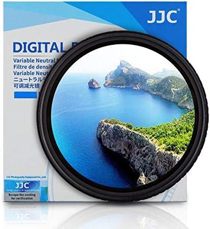 JJC F-NDV82 Variable Neutral Density ND ND400 Adjustable 82mm Filter ND2