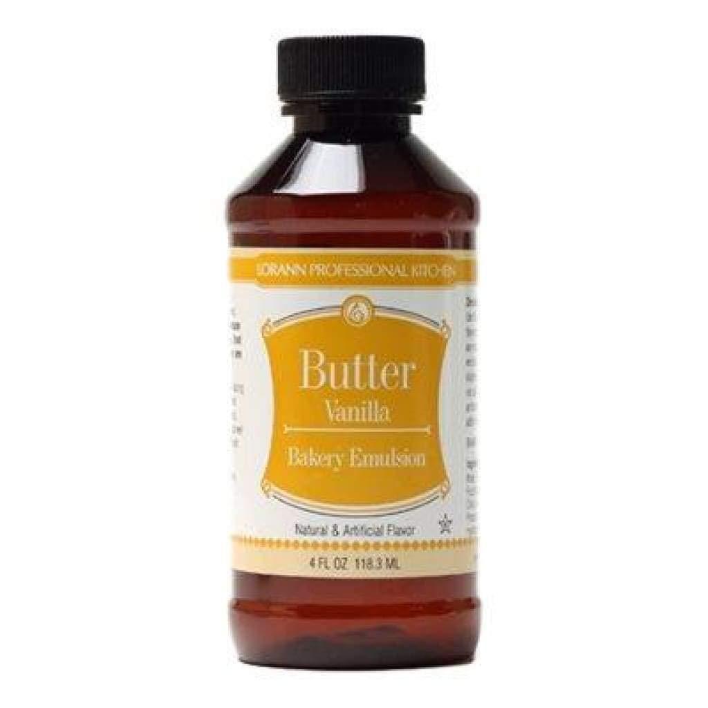 LorAnn Butter Vanilla Bakery Emulsion, Gallon bottle by LorAnn