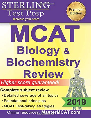 Pdf Test Preparation Sterling Test Prep MCAT Biology & Biochemistry Review: Complete Subject Review