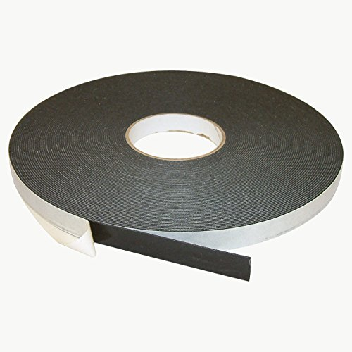 - J.V. Converting DC-PEF06A/BLK07536006 JVCC DC-PEF06A Double Coated Polyethylene Foam Tape: 1/16