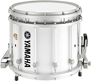yamaha 9300 series sfz marching snare drum 14 x 12 in white with standard hardware. Black Bedroom Furniture Sets. Home Design Ideas